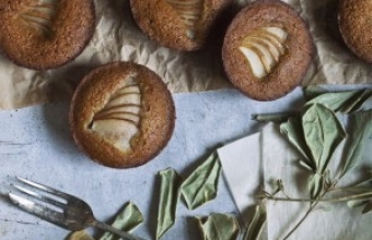 Csokis-körtés muffin